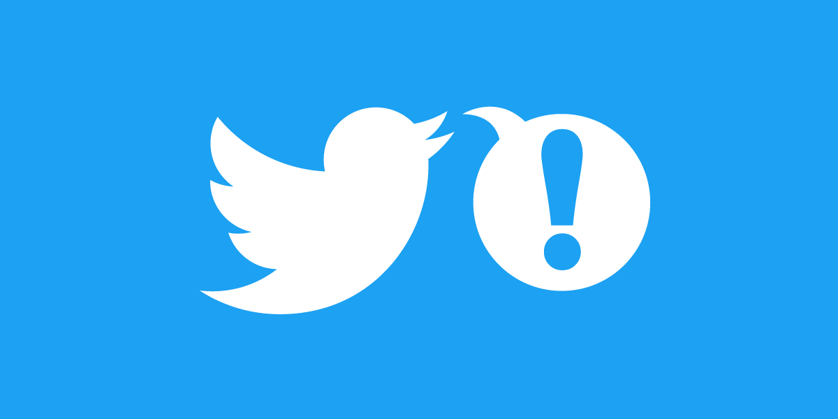 Twitter bird tweeting