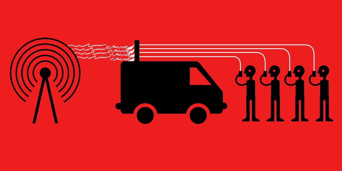 IMSI-Catchers Exploit Cell Networks