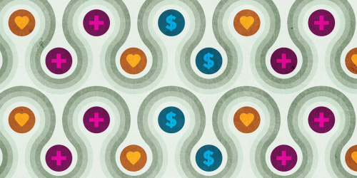 Colorful banner for #GivingTuesdayNow