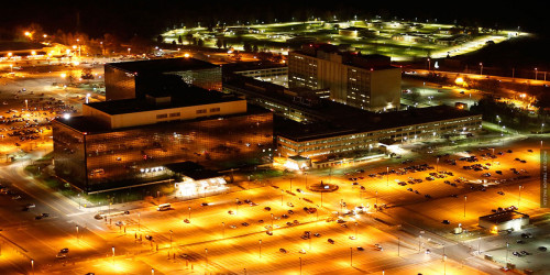 NSA HQ photo by Trevor Paglen